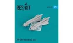 """Ракета авиационная Х-29Т класса """"воздух-поверхность"""" - RESKIT RS72-0101 1/72"""