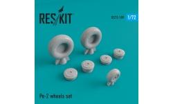 Пе-2 Петляков. Колеса шасси - RESKIT RS72-0189 1/72