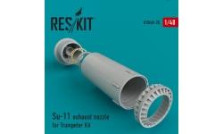 Су-11 Сухой. Конверсионный набор (TRUMPETER) - RESKIT RSU48-0020 1/48