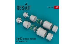 Су-33 Сухой. Конверсионный набор (KINETIC) - RESKIT RSU48-0036 1/48