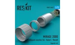 Mirage 2000C/D Dassault. Конверсионный набор (ITALERI/REVELL) - RESKIT RSU72-0021 1/72