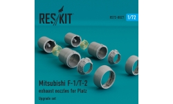 F-1/T-2 Mitsubishi. Конверсионный набор (PLATZ) - RESKIT RSU72-0027 1/72