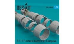 F-111F General Dynamics, Aardvark. Конверсионный набор (HASEGAWA) - RESKIT RSU72-0029 1/72
