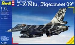 F-16AM Block 20 MLU General Dynamics, Fighting Falcon - REVELL 04691 1/72