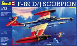 F-89D/J Northrop, Scorpion - REVELL 04848 1/72