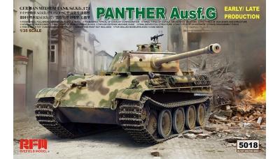 Panther, Panzerkampfwagen V, Sd.Kfz. 171, Ausf. G, MAN - RYEFIELD MODEL RM-5018 1/35