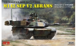 M1A2 SEP v2 General Dynamics, Abrams - RYEFIELD MODEL RM-5029 1/35