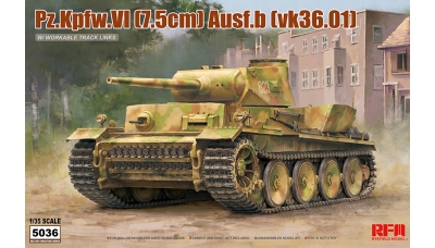 Panzerkampfwagen VI Ausf.B, VK 36.01 (H) Henschel - RYEFIELD MODEL RM-5036 1/35