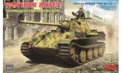 Panther, Panzerkampfwagen V, Sd.Kfz. 171, Ausf. F, MAN - RYEFIELD MODEL RM-5045 1/35