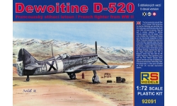 Dewoitine D.520 SNCAM - RS MODELS 92091 1/72
