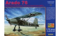 Ar 76A Arado - RS MODELS 92099 1/72