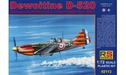 Dewoitine D.520 SNCAM - RS MODELS 92113 1/72