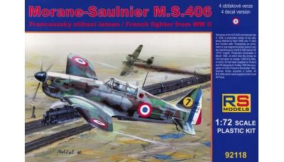 M.S.406 Morane-Saulnier - RS MODELS 92118 1/72
