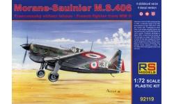 M.S.406 Morane-Saulnier - RS MODELS 92119 1/72