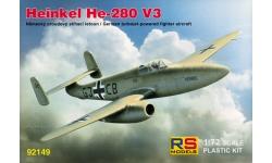 He 280 V3 Heinkel - RS MODELS 92149 1/72