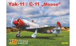 C-11 Let Kunovice (Як-11 Яковлев) - RS MODELS 92168 1/72