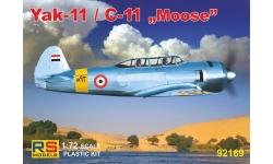 Як-11 Яковлев / C-11 Let Kunovice - RS MODELS 92169 1/72