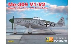 Me 309 V1/V2 Messerschmitt - RS MODELS 92201 1/72