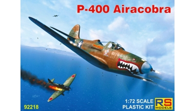 P-400 Bell, Airacobra - RS MODELS 92218 1/72