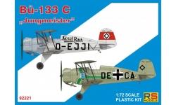 Bü 133C Bücker, Jungmeister - RS MODELS 92221 1/72
