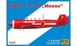 Як-11 Яковлев / C-11 Let Kunovice - RS MODELS 92229 1/72