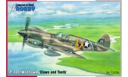 P-40E Curtiss, Warhawk - SPECIAL HOBBY SH72338 1/72