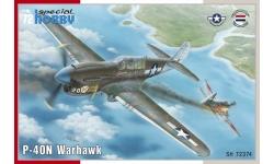 P-40N Curtiss, Warhawk - SPECIAL HOBBY SH72374 1/72