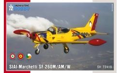 SF-260AM/M/260W Warrior, SIAI-Marchetti - SPECIAL HOBBY SH72418 1/72