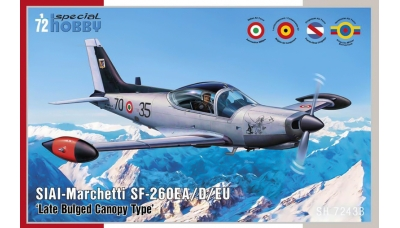 SF-260EA/EU/D, SIAI-Marchetti - SPECIAL HOBBY SH72433 1/72