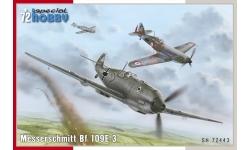 Bf 109E-3 Messerschmitt - SPECIAL HOBBY SH72443 1/72