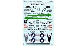 A-4B Douglas, Skyhawk - SUPERSCALE INTERNATIONAL 48-756 1/48