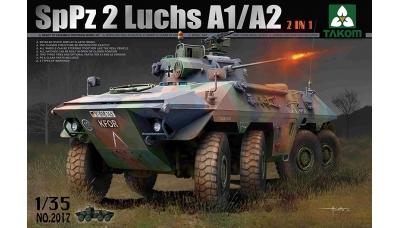 Luchs A1/A2 Spähpanzer 2 (SpPz 2), Thyssen-Henschel - TAKOM 2017 1/35