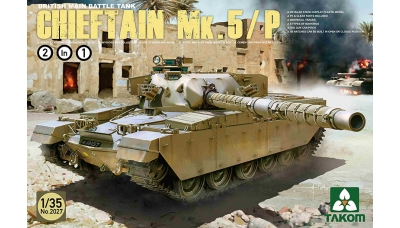 FV4201 Leyland Motors, Chieftain Mk. 5 / Mk. 5P - TAKOM 2027 1/35