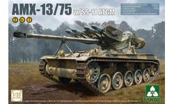 AMX-13 T75, GIAT / SS.11 ATGM Nord Aviation - TAKOM 2038 1/35
