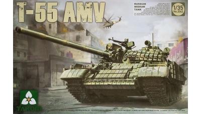 Т-55АМВ ХКБМ - TAKOM 2042 1/35