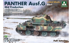 Panther, Panzerkampfwagen V, Sd.Kfz. 171, Ausf. G, MAN - TAKOM 2120 1/35