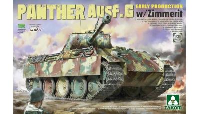Panther, Panzerkampfwagen V, Sd.Kfz. 171, Ausf. G, MAN - TAKOM 2134 1/35