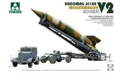 Aggregat 4 (V-2) / Hanomag Typ SS 100 LN, Gigant / Meillerwagen - TAKOM 5001 1/72