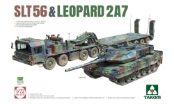 Leopard 2A7 KMW / SLT 56 FAUN / Sattelanhänger 56t - TAKOM 5011 1/72