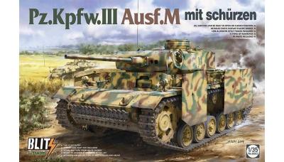 Pz.Kpfw. III, Sd.Kfz. 141 Ausf. M, Daimler-Benz - TAKOM 8002 1/35