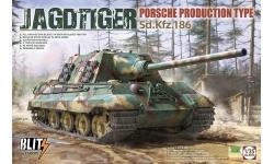 Panzerjäger Tiger, Sd. Kfz. 186, Ausf. B, Porsche - TAKOM 8003 1/35