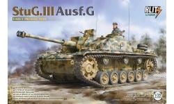 Sturmgeschütz III, Sd.Kfz. 142/1 Ausf. G, StuG III - TAKOM 8004 1/35
