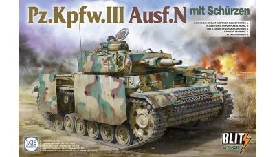 Pz.Kpfw. III, Sd.Kfz. 141 Ausf. N, Daimler-Benz - TAKOM 8005 1/35