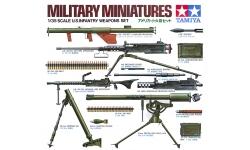 Вооружение пехотных частей армии США 1941-1945 гг - TAMIYA 35121 1/35