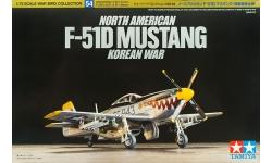 F-51D (P-51D) North American, Mustang - TAMIYA 60754 1/72