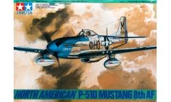 P-51D North American Aviation, Mustang - TAMIYA 61040 1/48