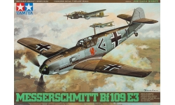 Bf 109E-3 Messerschmitt - TAMIYA 61050 1/48