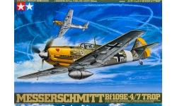 Bf 109E-4/E-7 Messerschmitt - TAMIYA 61063 1/48