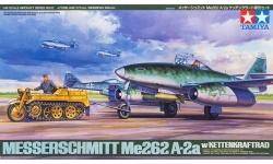 Me 262 A-2a Messerschmitt &  Kettenkrad Typ HK 101 NSU - TAMIYA 61082 1/48