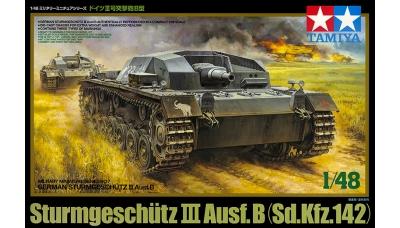 Sturmgeschütz III, Sd.Kfz. 142 Ausf. B, StuG III - TAMIYA 32507 1/48